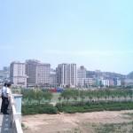 黄河的一边陕西府谷县
